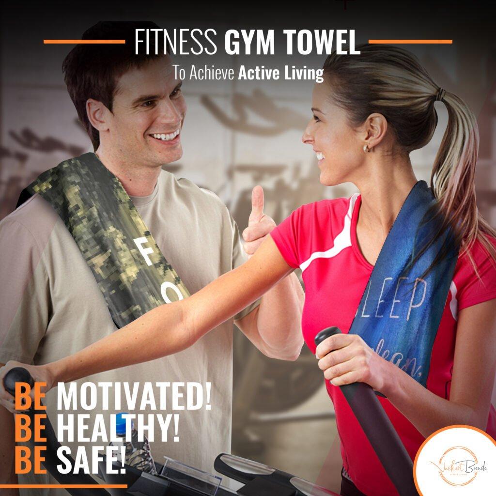 Vackert Boende Motivated Gym Towels